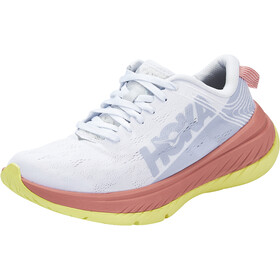Hoka One One Carbon X Running Shoes Women, nimbus cloud/lantana